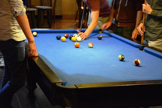 Delirium Cafe Lisboa: Free snooker para os nossos clientes