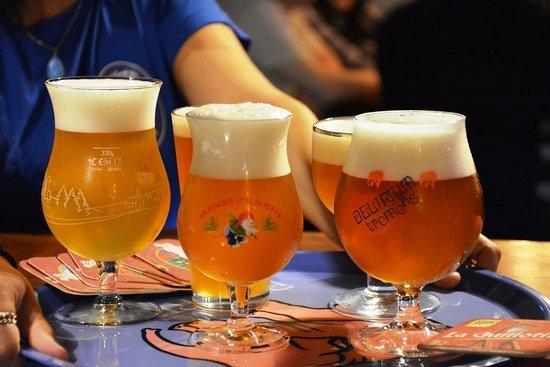 Delirium Cafe Lisboa: Cervejas especias, premiadas em todo o mundo !