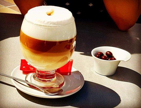 Cala Gran Cocktail Bar: Coffee XXL 😋👍