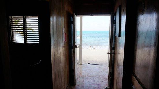 Isla Saona, جمهورية الدومينيكان: Widok z korytarza 