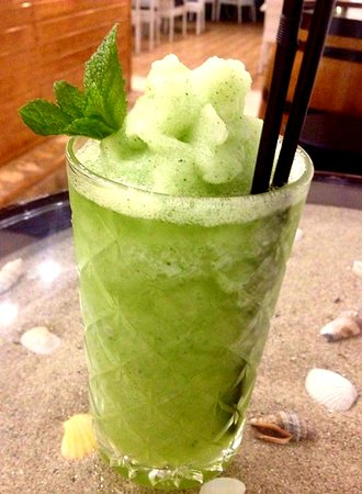Cala Gran Cocktail Bar: Frozen mojito 🤯😁👍