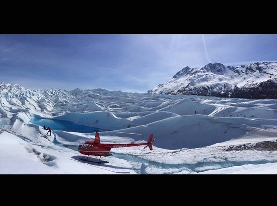 Alpine Air Alaska: Great photo opportunities in the Chugach Mountains