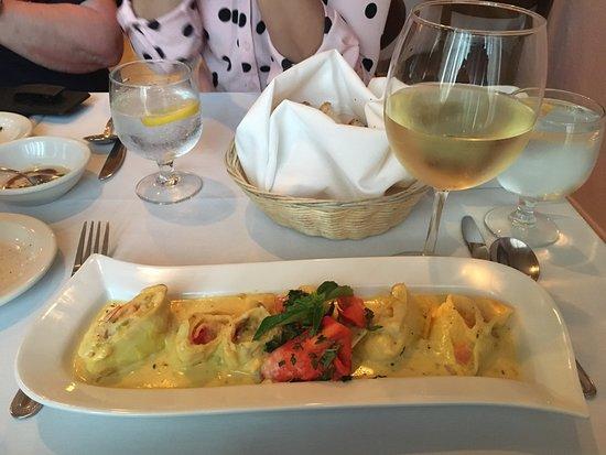 Bunnell, FL: This was a lobster dish. I had a taste, super good!