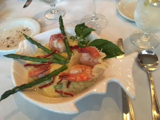 Bunnell, FL: Shrimp and Risotto, wonderful!