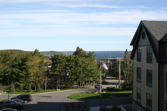 Ellsworth, Maine: View from our room