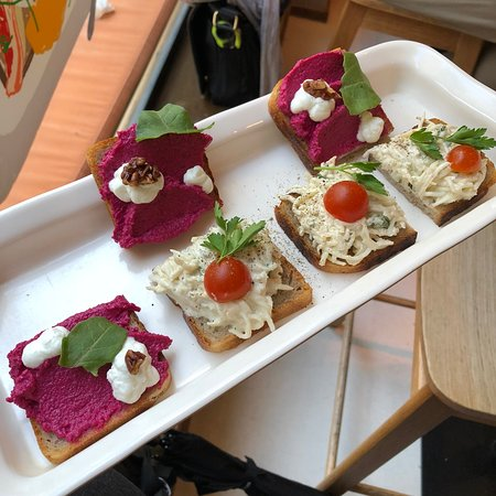 Prague Foodie Tour: Open sandwich