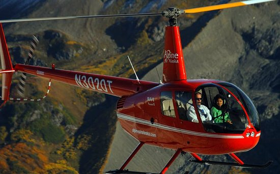 Girdwood, AK: Come fly with us!