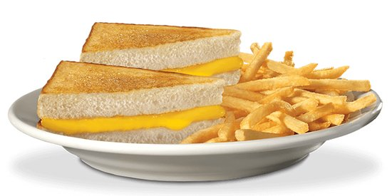 Hot Rocks Restaurant - Bar - Bands & Musicians: kids grilled cheese plate