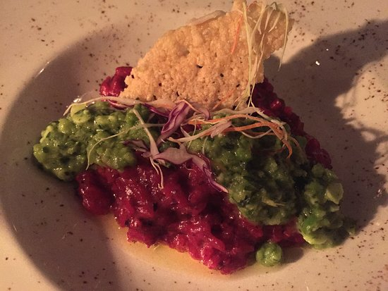 Seven: Roasted Beet Risotto