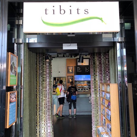 Tibits is conveniently located on the street level at Bern HBF (central train station) with options of take away, eat inside or eat at the outside tables.<br/>The self serve buffet style assortment of dishes include a good variety of vegan options. All the dishes are clearly labelled whether they are vegan or not, so vegan selection is very easy to do.<br/>The food is sold by weight, so you just take a plate and load it up with whatever you like, take it to the cashier where they weigh it and you pay only for what you take.<br/>We tried all of the vegan options and really liked every one of them with only issue being that we really ate too much.<br/>A dinner for four of us averaged about 28 Swiss francs per person and we so full nobody wanted desert.<br/>Whilst not the cheapest possible meal, delicious and nutritious as well quick and very easy option for vegans and others alike.