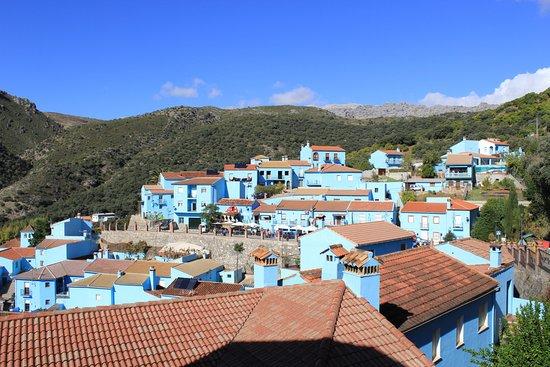 Juzcar, Spanyol: Синие домики