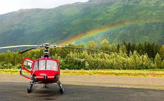 Alpine Air Alaska: Rainbow
