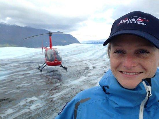 Alpine Air Alaska: glacier