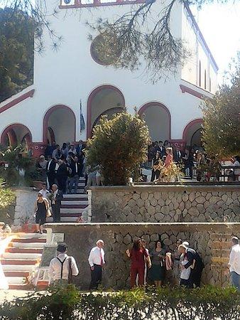 Eleousa, Grecja: The church