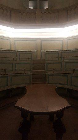 Museo di Anatomia: Teatro Anatomico del 700