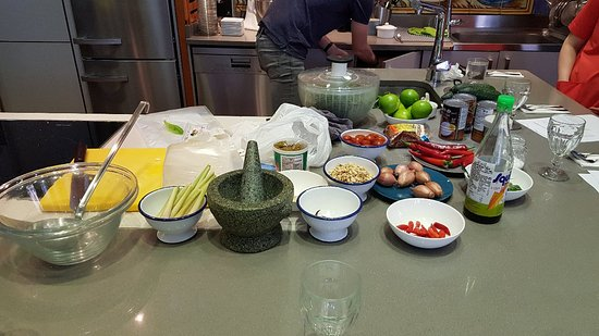 Ingredientes para el curso de cocina tailandesa con igo for Alambique madrid