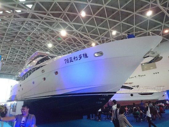 Kaohsiung Exhibition Center: 2018高雄遊艇展,展示遊艇