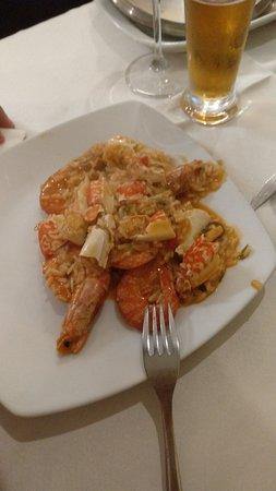 Restaurante Ferro: Arroz con marisco