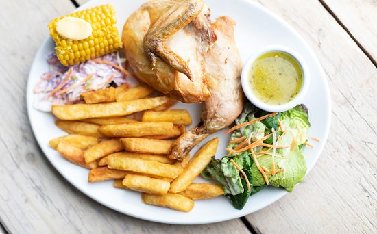 Half Penny Farm, Dining & Carvery: Try our delicious lemon chicken