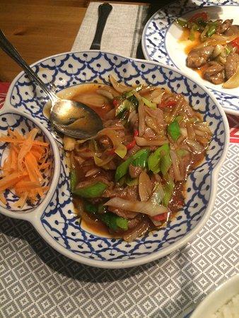 Thai House Restaurant: Al tavolo
