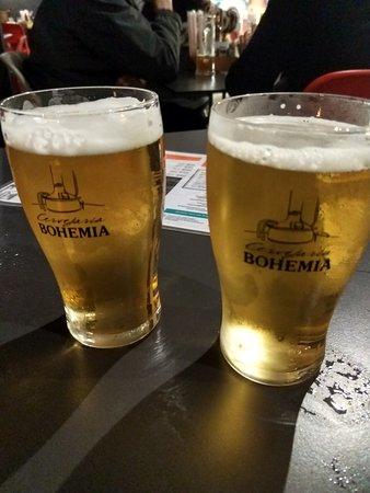 Cervejaria Bohemia: Aquele choppinho
