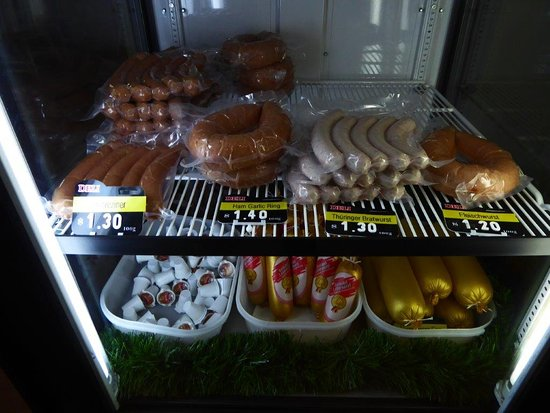 Oma's Schnitzel Stube: Oma's 5 German sausages for sale