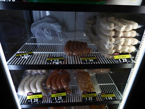 Oma's Schnitzel Stube: Oma's 6 German sausages for sale