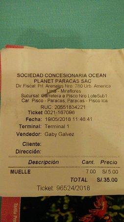Islas Ballestas Resmi