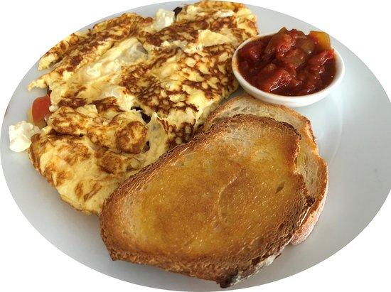Vancouver Street Cafe: Omelette