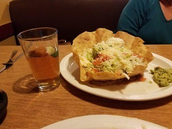 Lebec, Kalifornien: Chile Verde tostada