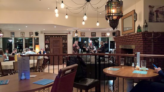The Wellsprings Inn Pendle Hill: Live band