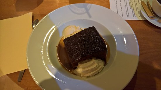 The Wellsprings Inn Pendle Hill: Sticky Toffee Pudding