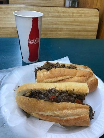 Lawrenceville, NJ: Cheesesteak and Coke