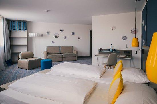 Neckarsulm, ألمانيا: Guest room