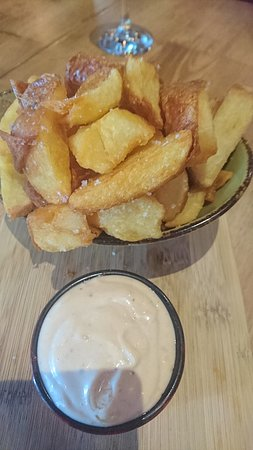 ‪‪Christies Beach‬, أستراليا: chips with chipolte aioli‬