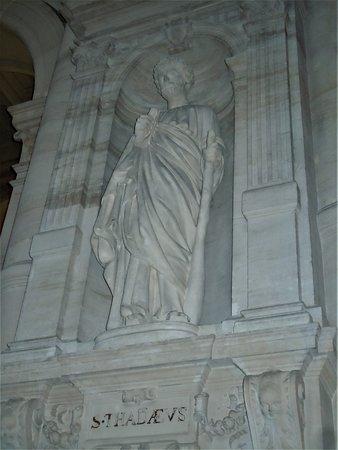 La statue de Saint-Jude