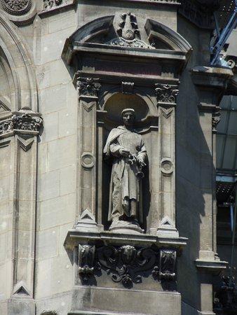 La statue de Saint-Jean de Matha