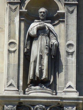 Statue de Saint-Bonaventure