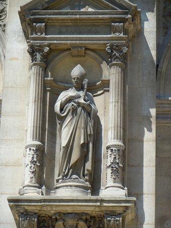 La statue de Saint-Augustin d'Hippone