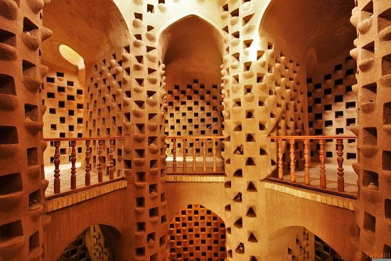 Isfahan Province, Iran: Iran Pigeon Towers is a luxury accommodation for pigeons to collect their dung.