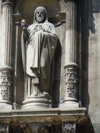 La statue de Saint-Anathase