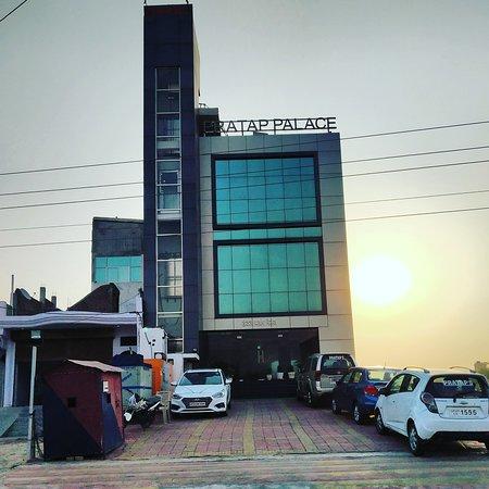 Lalganj, India: Hotel pratap palace