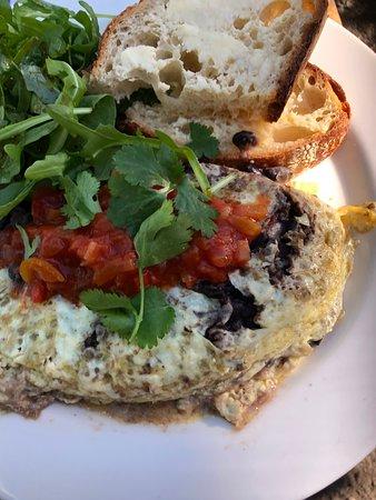 Doonan, Australia: Mexican omelette