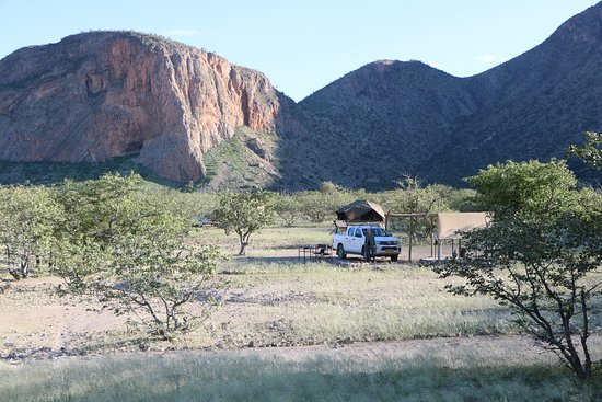 Kaokoland, นามิเบีย: Campsite