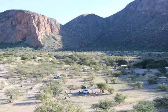 Kaokoland, ناميبيا: Campsite