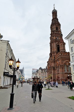 Bauman Street (Kazansky Arbat): Собор Богоявления Господня, Колокольня