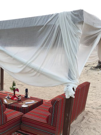 Sir Bani Yas Island, United Arab Emirates: Dining by design