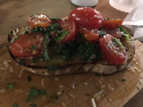 Vanlose, الدنمارك: Fantastic bruscetta