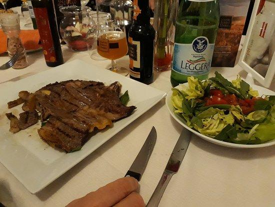 Castel San Giorgio, Италия: Carne alla brace