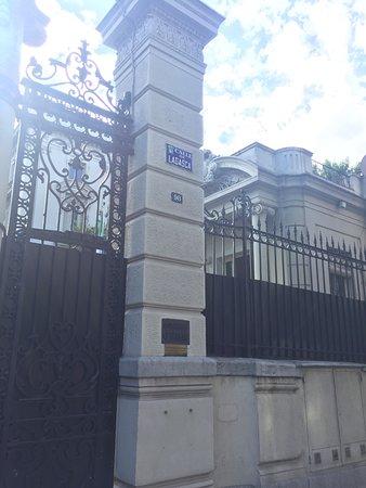 Palacio de Amboage: Entrada